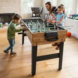 10-in-1 Combo Game Table Set w/ Billiards, Foosball, Ping Po