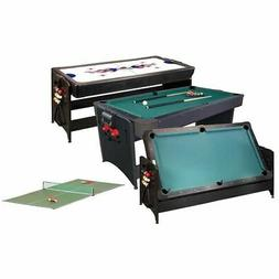 3 in 1 GLD Pockey Combination Game Table - Billiard, Air Hoc