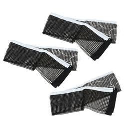 3PCS Portable Table Tennis Replacement Net Ping Pong Net wit