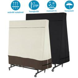 600D Waterproof Dustproof Table Tennis Cover Indoor/Outdoor