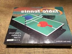 Mini Portable Tabletop Table Tennis  Game Set