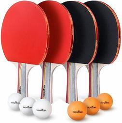 Set of 2 Prince Advanced Control 600 Table Tennis Racket Pin
