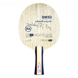 Gewo Alvaro Robles OFF table tennis blade, FL handle