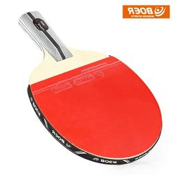 BOER Outdoor 1 Star Table Tennis Rubber Ping Pong Racket Pad