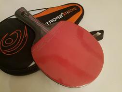 BOER Ping Pong Table Tennis Racket Paddle Bat