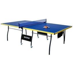 Hathaway Bounce Back Table Tennis Table, Blue