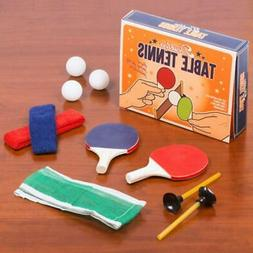 Classic Table Tennis Ping Pong Set | retro kids toys games s