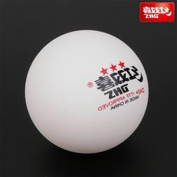 DHS D40+ 3-Stars Table Tennis Balls Plastic Ping Pong Balls