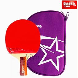 DHS R2006 Table Tennis Penhold Racket Short Handle Ping Pong