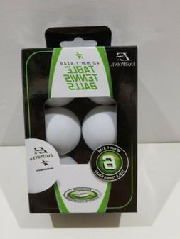 Eastpoint Table Tennis / Ping Pong White Balls 40mm One Star
