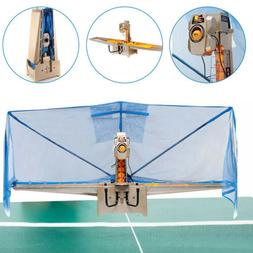 Easy Assembly Table Tennis Robot Ping Pong Ball Training Mac