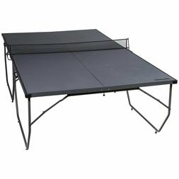 Franklin Sports Easy Assembly Table Tennis Table Black Porta