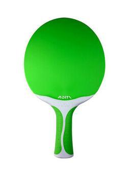 Stiga Flow Table Tennis Racket, Green/White