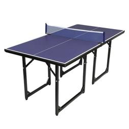 Ktaxon Folding Table Tennis Table, Indoor Ping Pong Table, 1