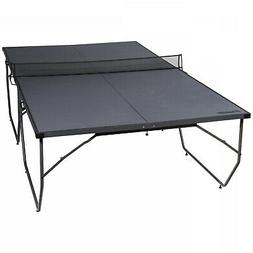 FRANKLIN SPORTS Table Tennis Gray Black Foldable Ping Pong P