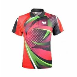 Free shipping men's Tops table tennis clothing Badminton Onl