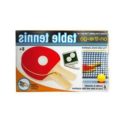 Bulk Buys GW316-4 Portable Table Tennis Set 4 Piece