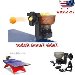 HP-07 Ping Pong Robots Table Tennis Automatic Ball Machine f
