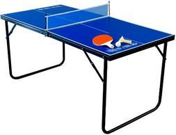 Park & Sun Sports Indoor/Outdoor Mini Table Tennis Table wit