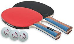 Killerspin JETSET 2 Table Tenis Set with 2 Paddles and 3 Bal