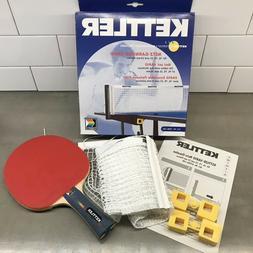 Kettler Table Tennis Ping Pong Net Replacement Set AND BONUS