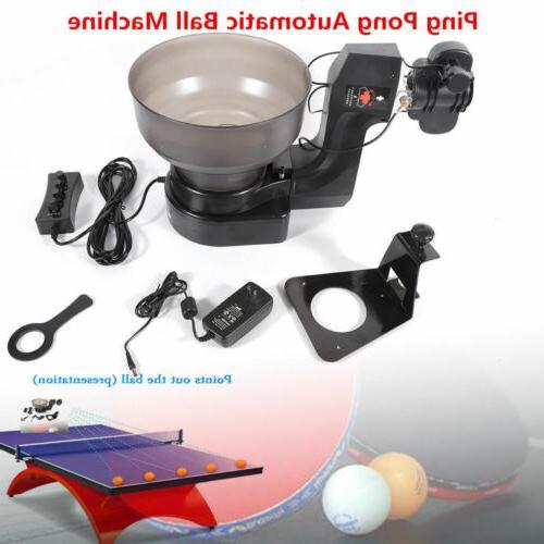 110V 7 Angle 2 Wheels Drive Ball Machine 5-Level Swing Speed