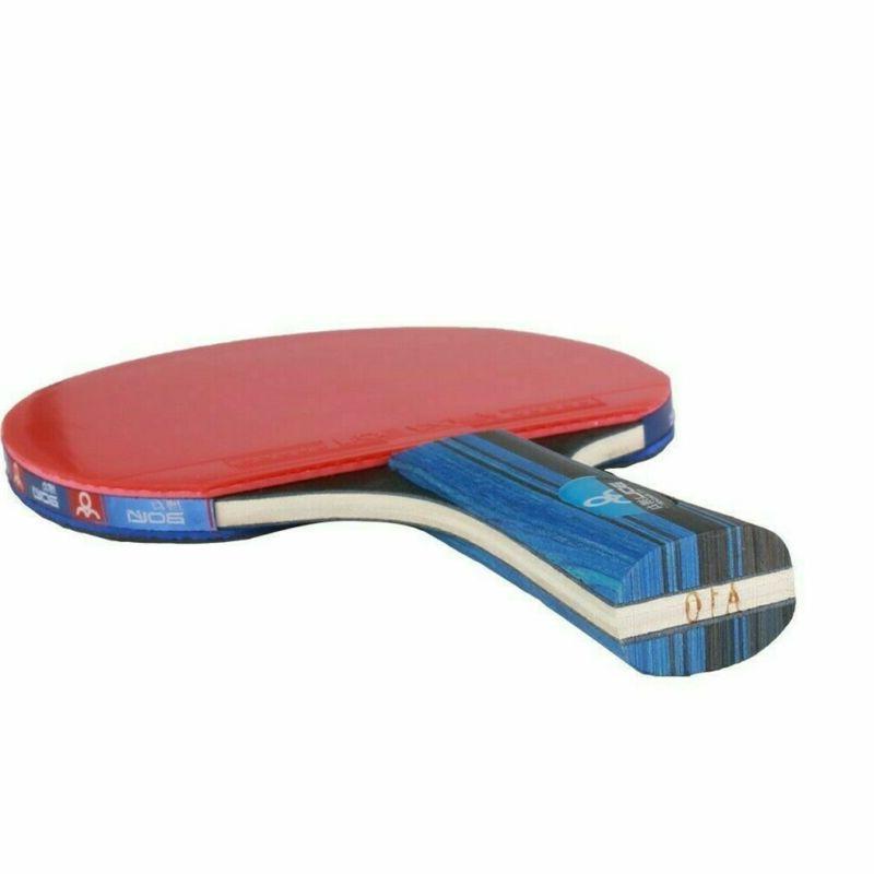 1Pair Table Tennis Ping Racket Bat+3pcs