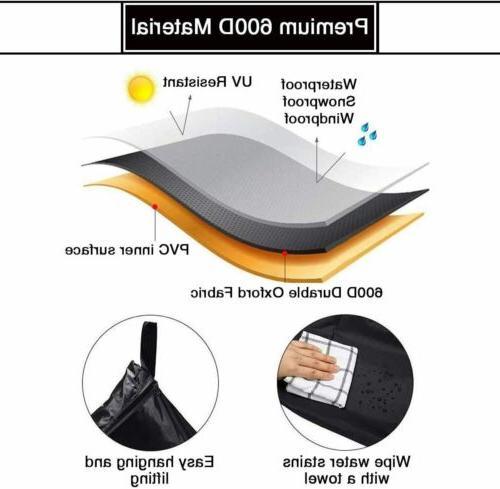 Black Breathable Heavy Duty 600D Table Tennis Pong Protector