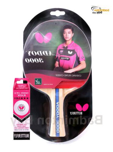 addoy 3000 fl shakehand table tennis racket