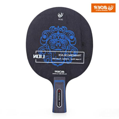 1pc Pattern Ping Pong Racket Training Blade New