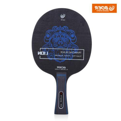 1pc Pattern Pong Racket New