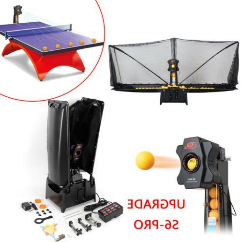 auto table tennis ball machine 2 wheel