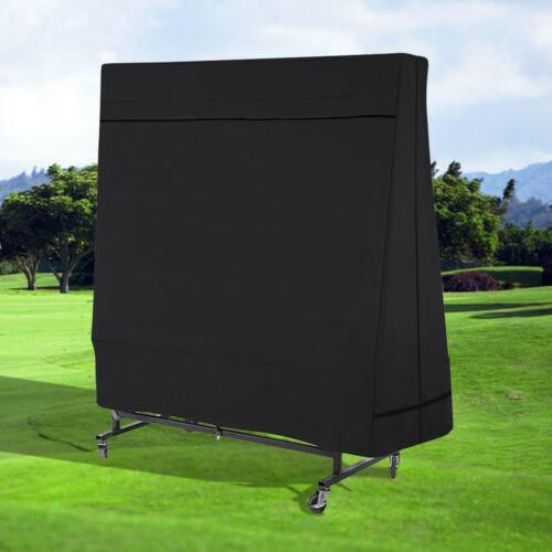 Black Breathable 600D Pong Table