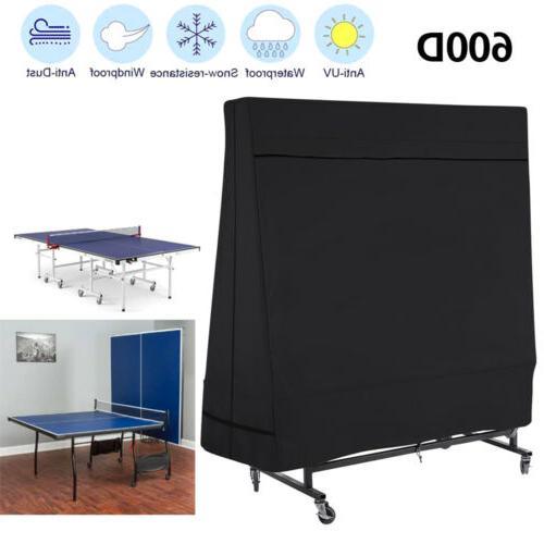 black breathable heavy duty 600d table tennis