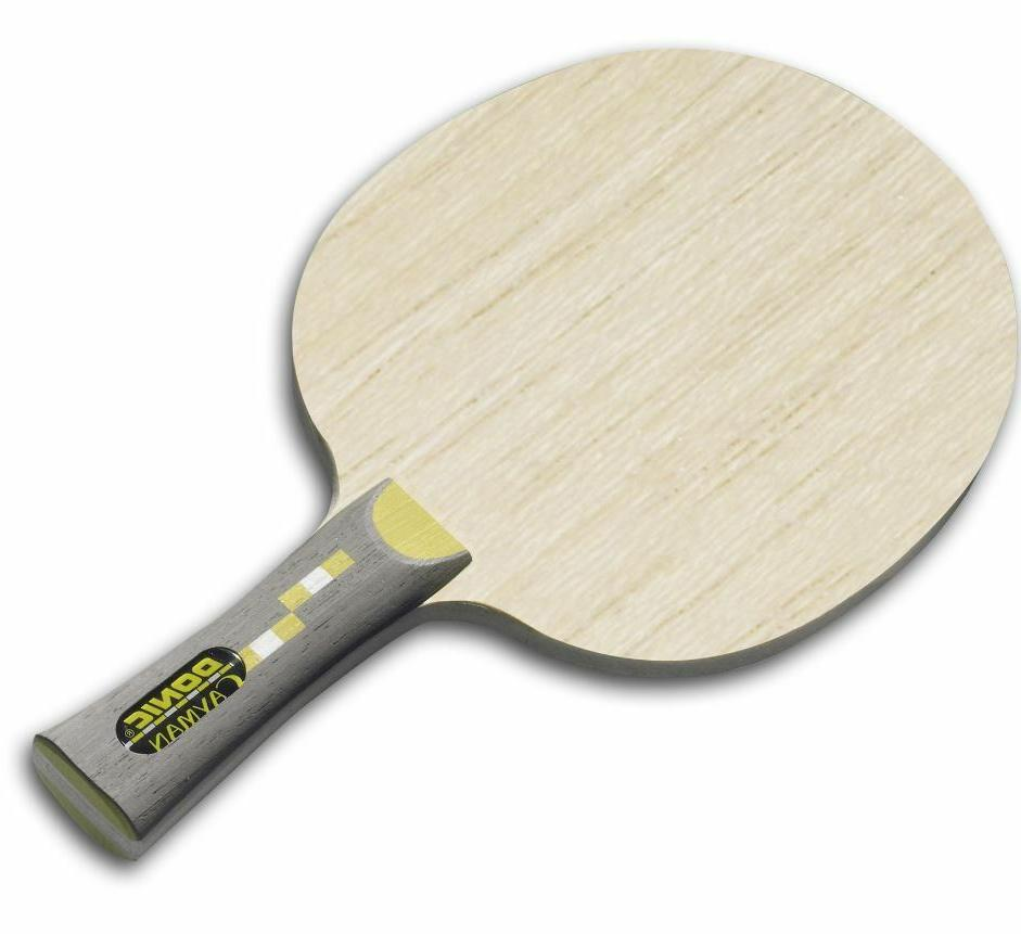 cayman table tennis ping pong straight handle