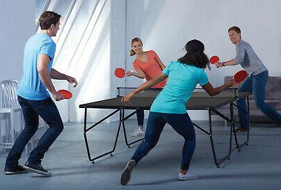 FRANKLIN SPORTS Tennis Gray Foldable Pong