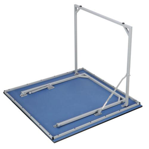Indoor Tennis Ping Pong Table With Net And Post