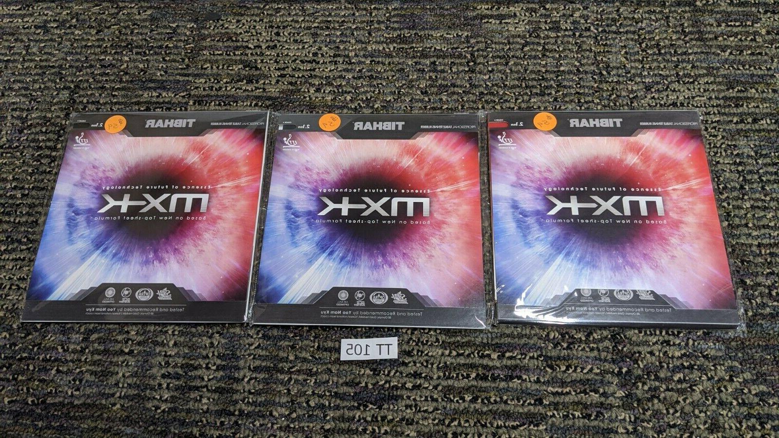 lot of 3 evolution mx k table