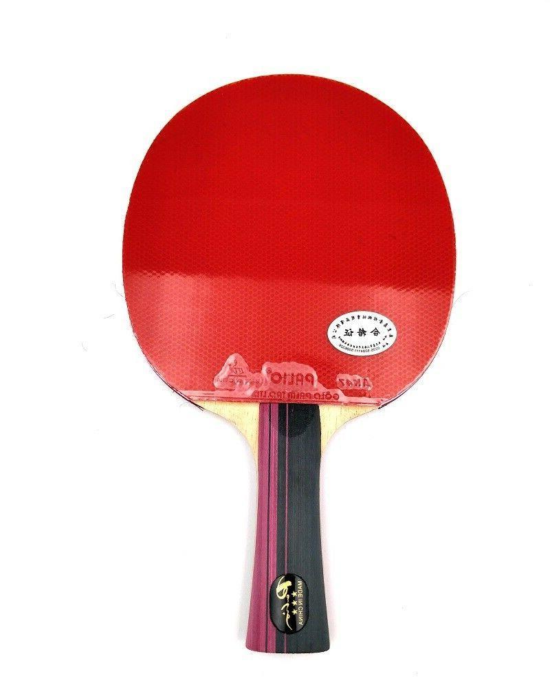 master 3 star professional table tennis racket