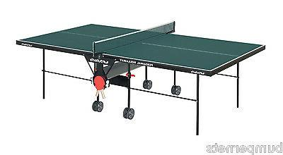 new personal rollaway ping pong table tennis