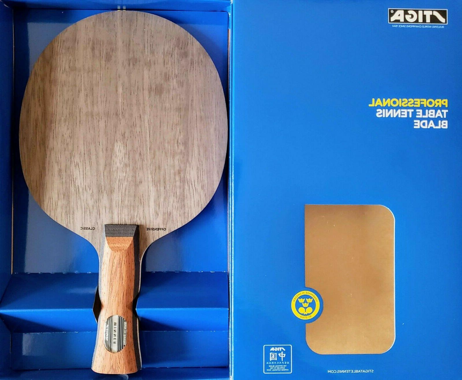 offensive classic off professional table tennis blade