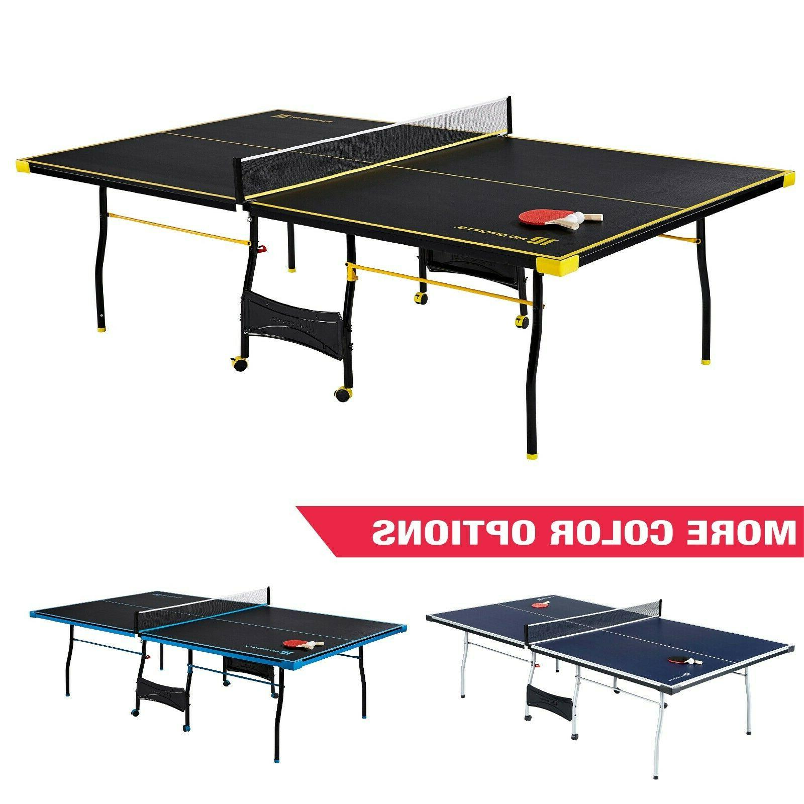 MD Sports 15mm Table Tennis Yellow