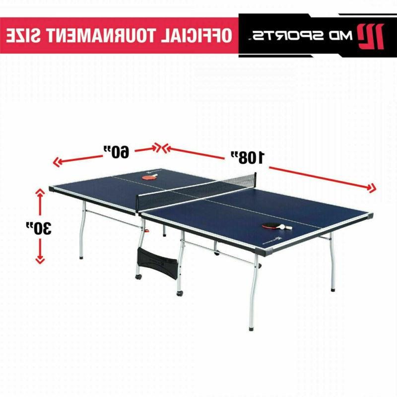 Official Size Ping Table Tennis Foldable Paddles Balls