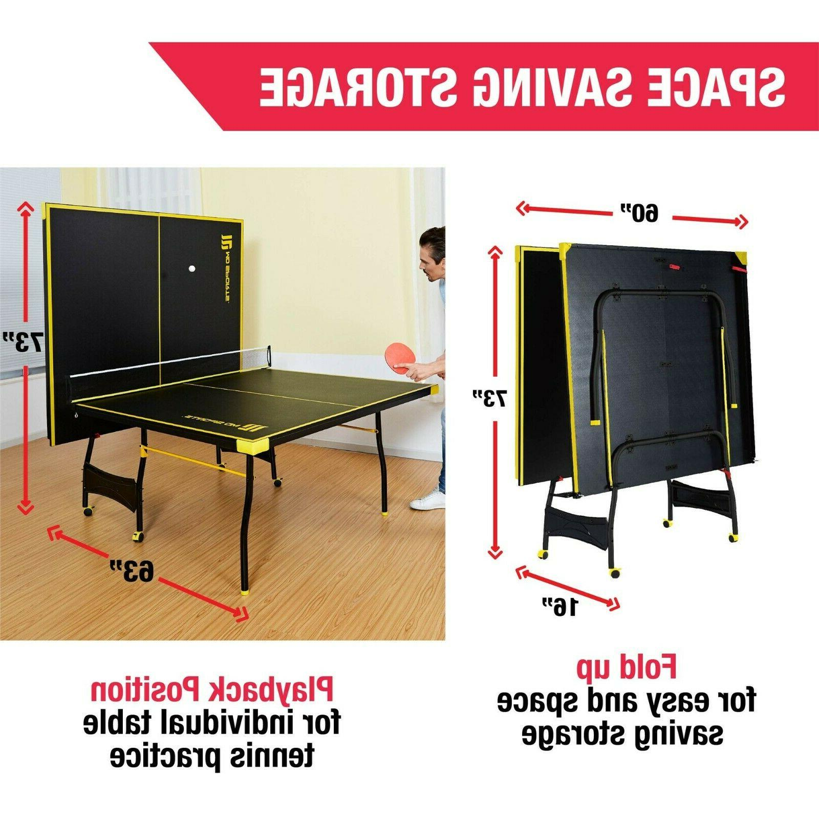 Ping Pong Table Table With And Balls OFFICIAL