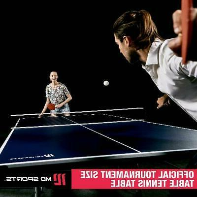 Official Size Table Tennis Ping Pong Table Indoor/Outdoor Wi