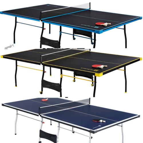 Official Size Table Tennis Ping Pong Table Indoor Outdoor Wi