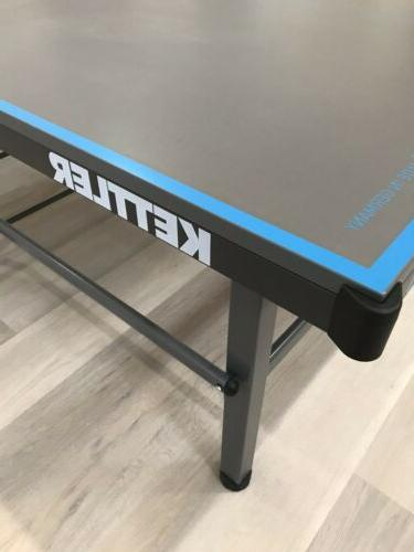 Kettler Outdoor 10 Ping Pong Table W Accessories