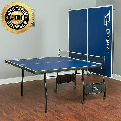 Foldable Ping Pong Table.Outdoor Ping Pong Table Folding Tennis Table Indoor Full Official Size Wheels