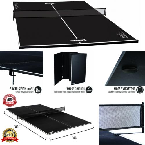 ping pong sports table tennis conversion top