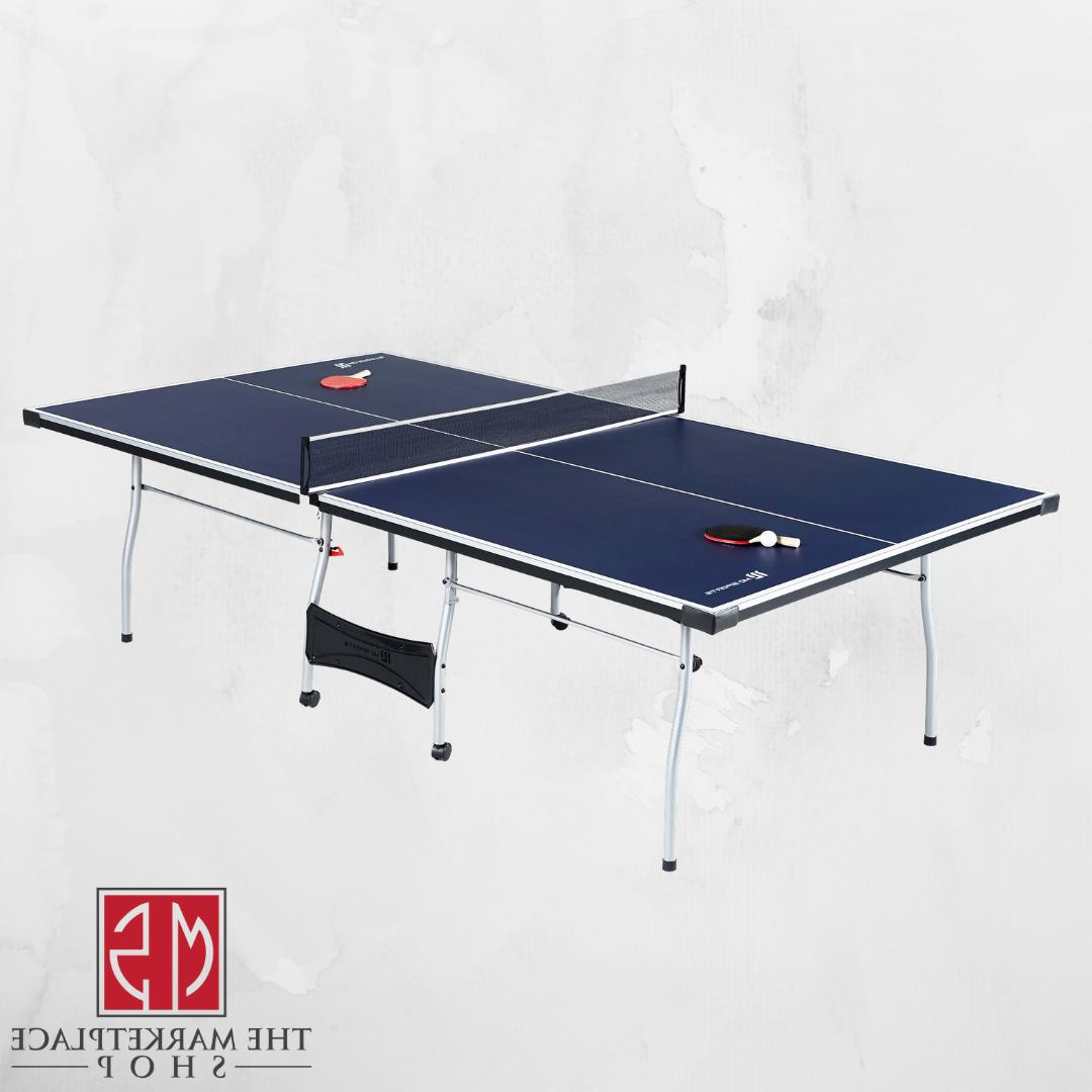 Ping Pong Table Indoor Table Tennis With And Balls SIZE